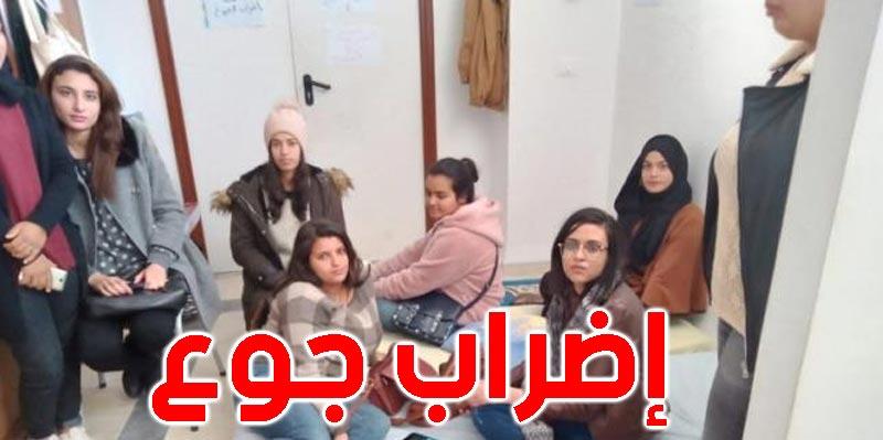 الكاف: تواصل إضراب جوع خريجي شعبة علوم التربية وتدهور الحالة الصحية للبعض منهم