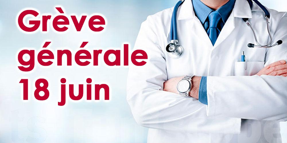 Grève générale du secteur de la santé le 18 juin