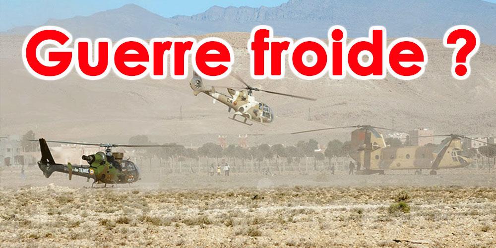 Importantes manœuvres algériennes à la frontière marocaine