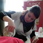 La marque Guinot en Tunisie, avec des soins de la tête aux pieds