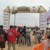 Arrivée du Rallye de Tunisie