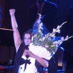 Nathalie Cardone à Carthage: émue devant un public non conquis !