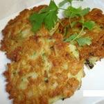 Croustillants de courgettes et de pommes de terre