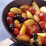 Fruits d'automne au sésame