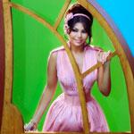 Haifa Wahbi chante aux enfants