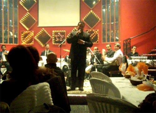 Jalloul Jelassi prépare son Show