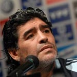 Maradona insulte la fifa