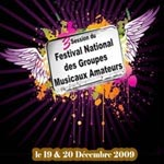 Clôture du Festival National des Groupes Musicaux Amateurs
