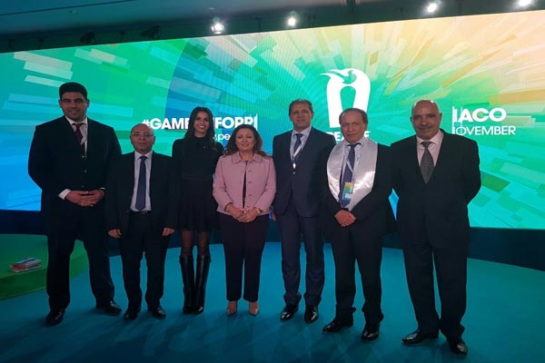 En photos : Habiba Ghribi nommée membre du club des Champions de la Paix