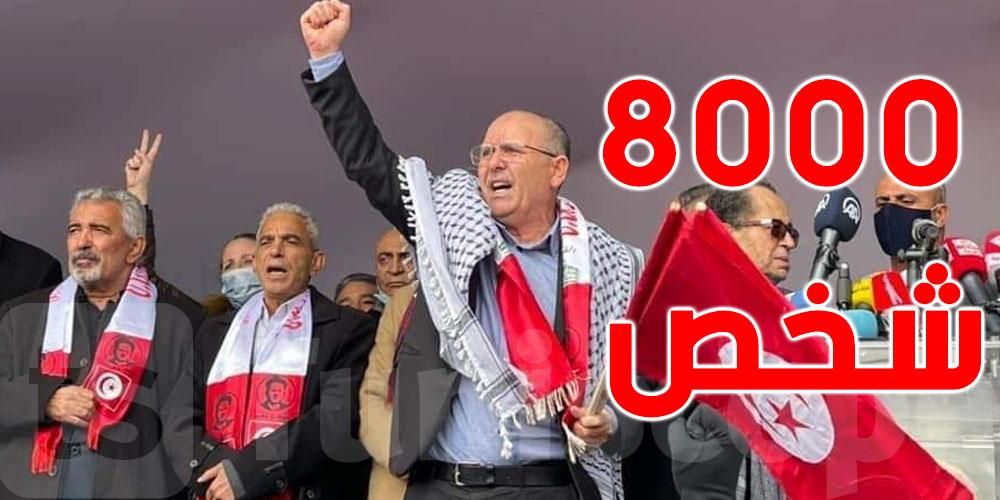 في الذكرى 65 لاغتياله: السبسي والشاهد والناصر يزورون ضريح الزعيم فرحات حشاد