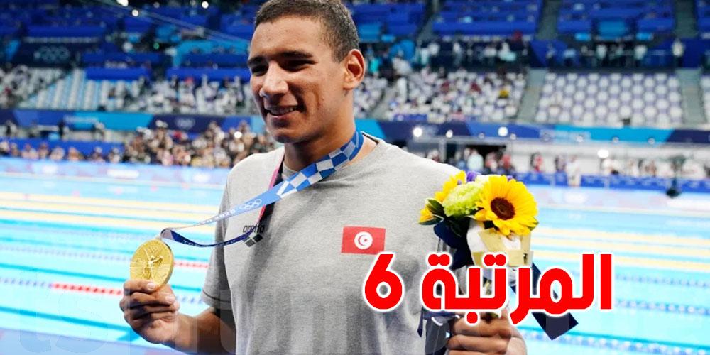 بعد الذهبية..أحمد الحفناوي في المرتبة السادسة