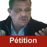 Pétition de solidarité avec le militant Adnène Hajji
