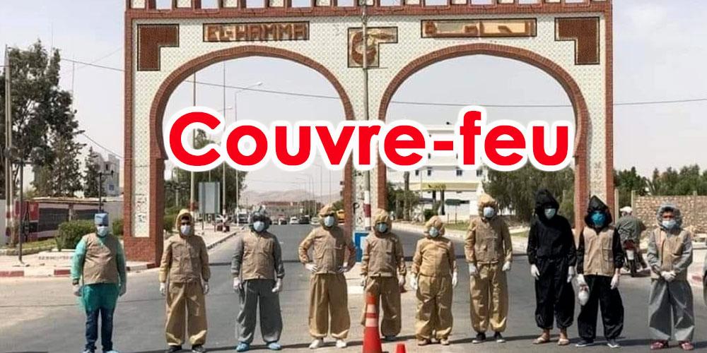 Couvre-feu à El Hamma à cause du Coronavirus