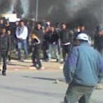 Blocage de l'autoroute Tunis-Hammamet
