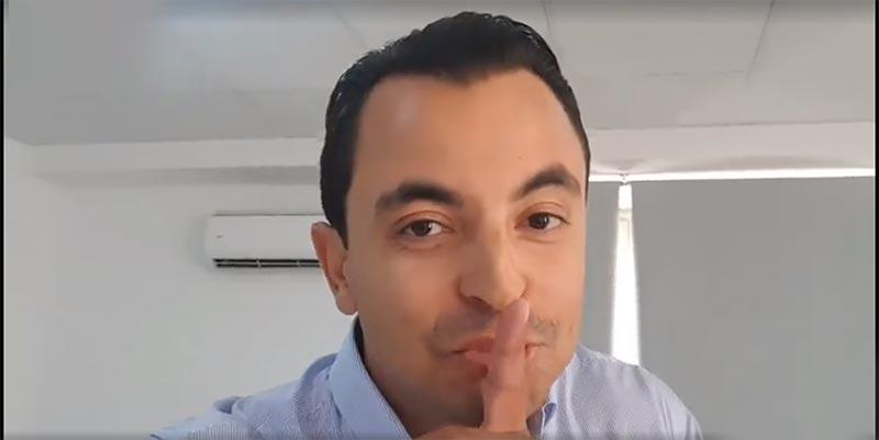 بالفيديو: حمزة البلومي يعلن عن برنامجه الجديد على قناة الحوار التونسي