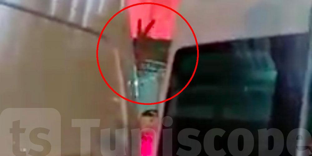 صورة من داخل سيارة الإسعاف، رسالة ''النصر'' من نبيل القروي