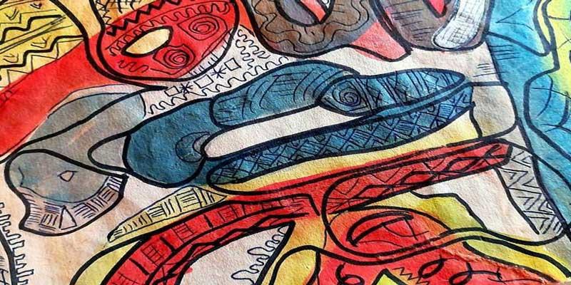 الفنان التشكيلي المهاجر المنجي الفرحاني يقدّم معرض