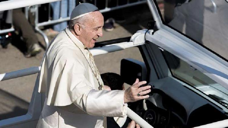 بابا الفاتيكان: أشعر بالعار !