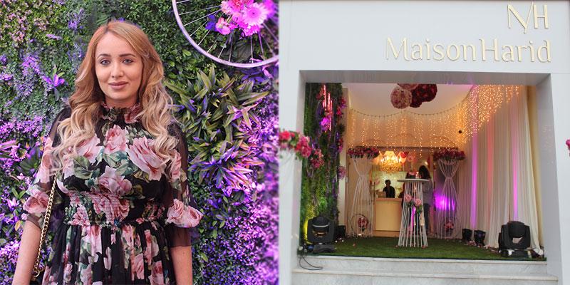 En vidéo : Inauguration de Maison Harid, le nouveau centre de beauté au Lac 2