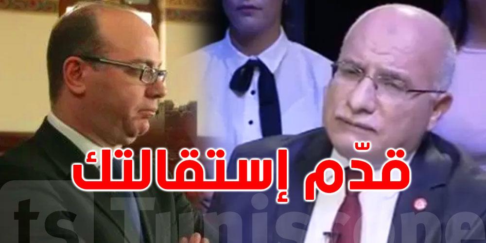 عبد الكريم الهاروني للفخفاخ: أنصحك بالإستقالة