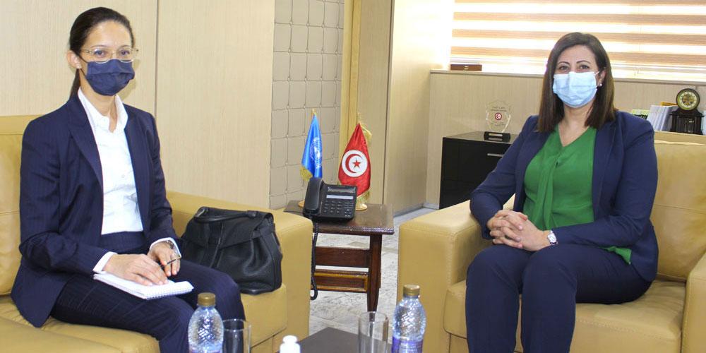 ماذا في لقاء وزيرة العدل بممثلة مكتب المفوضية السامية للأمم المتحدة لحقوق الإنسان؟