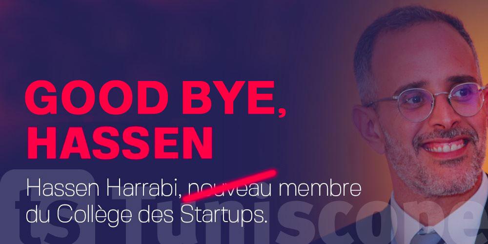 Hassen Harrabi conseiller et membre du collège des Startups démis de ses fonctions