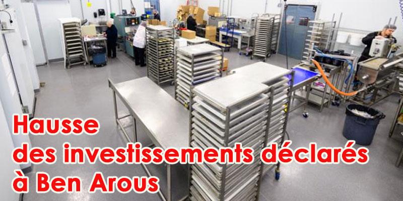 Hausse des investissements déclarés dans l'industrie et les services à Ben Arous