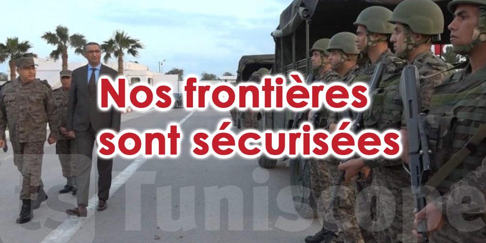 ''Nos frontières sont sécurisées''