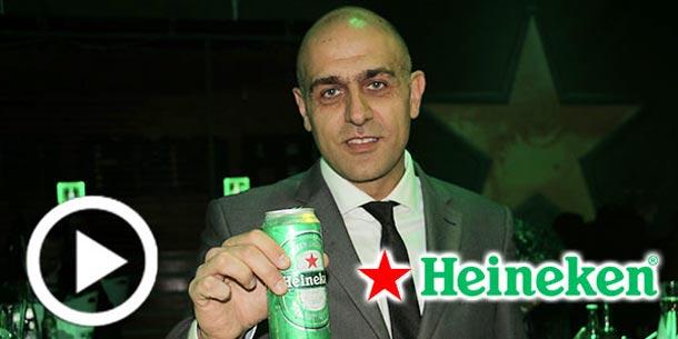 En vidéo : Lancement de la nouvelle canette 50cl de Heineken
