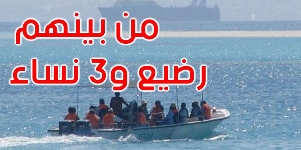 المهدية: إيقاف 51 مجتازا للحدود البحرية خلسة