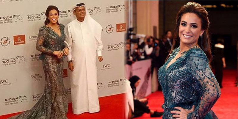 بالفيديو: هند صبري تتعرض لموقف محرج في مهرجان دبي