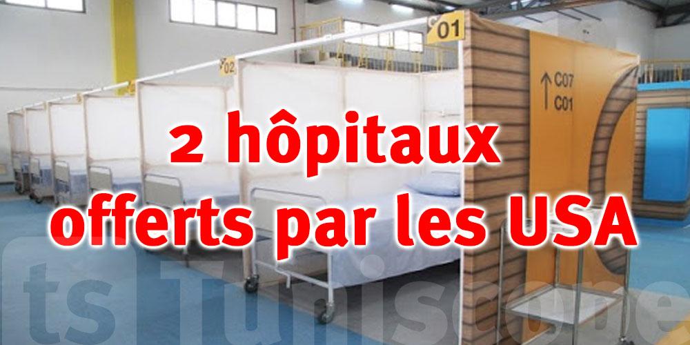 Deux hôpitaux de campagne offerts par le gouvernement américain