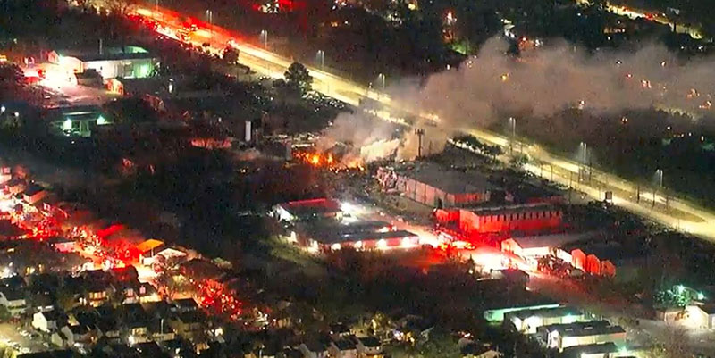 USA: une explosion secoue Houston, au Texas