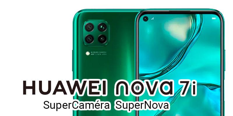 Huawei : Le Nova 7i, la mode et la technologie seront bientôt à vous