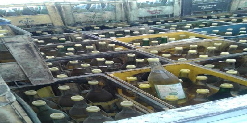 القيروان: حجز 1388 لترا من الزيت النباتي المدعم بأحد المستودعات