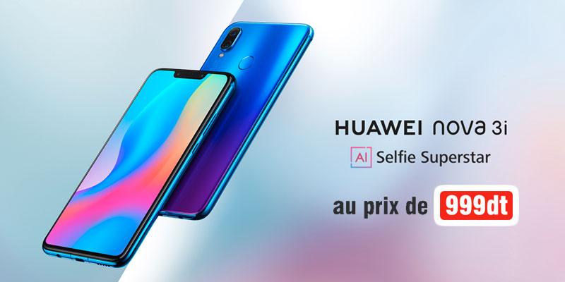 Le Huawei Nova 3i est enfin disponible sur le marché Tunisien