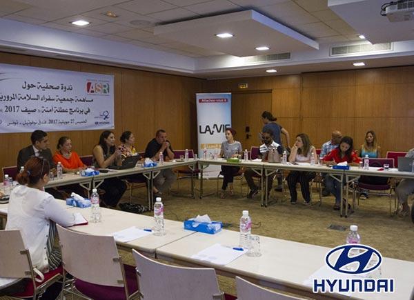 Alpha Hyundai Motor soutient la campagne estivale des ambassadeurs de la sécurité routière