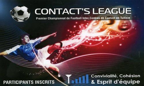 Premier Championnat de Football Inter Centres de Contact en Tunisie