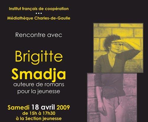Rencontre avec Brigitte Smadja