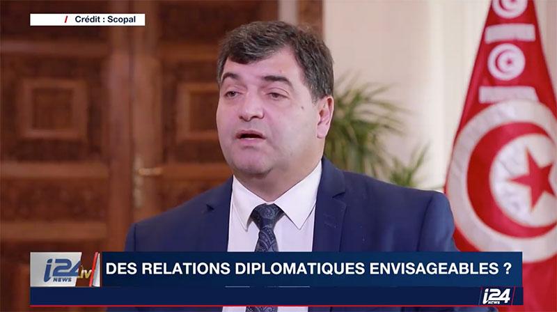 René Trabelsi n'a jamais donné d'interview à une Chaîne Israelienne