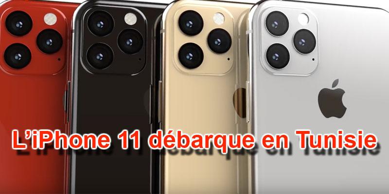 Découvrez les prix de l'iPhone 11, chez Ooredoo Tunisie