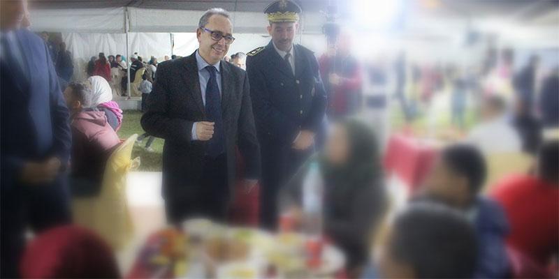 بالصور، إفطار جماعي بالسجن المدني بالمرناقية