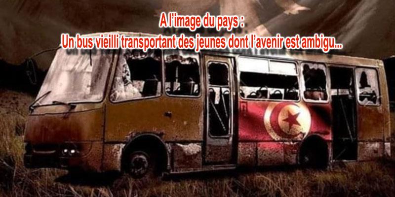 L'image du jour : L'accident de Amdoun est une miniature de la Tunisie