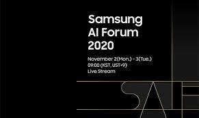 Samsung IA Forum 2020  explore l'avenir de l'intelligence artificielle