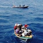 إحباط عملية اجتياز الحدود البحرية خلسة