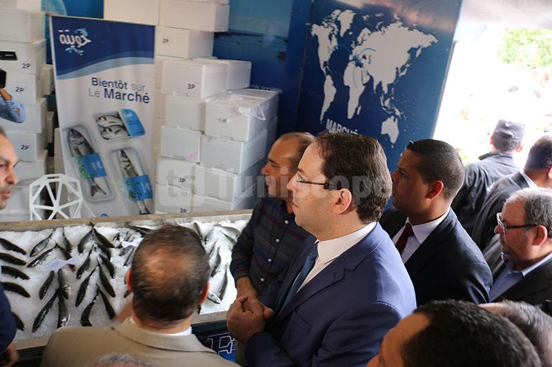 صور: الشاهد يفتتح خيمة رمضان من المنتج إلى المستهلك في شارع الحبيب بورقيبة