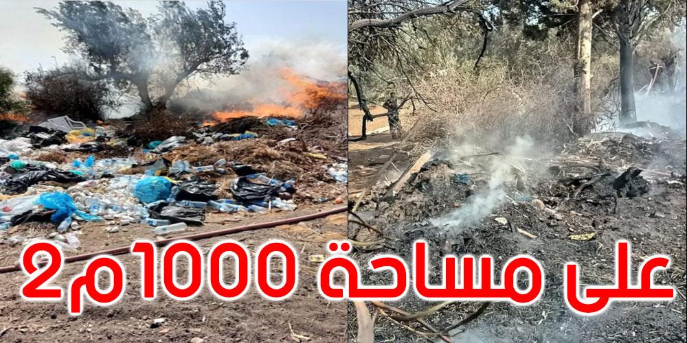 نابل: السيطرة على حريق في ساحة أحد النزل بالحمامات