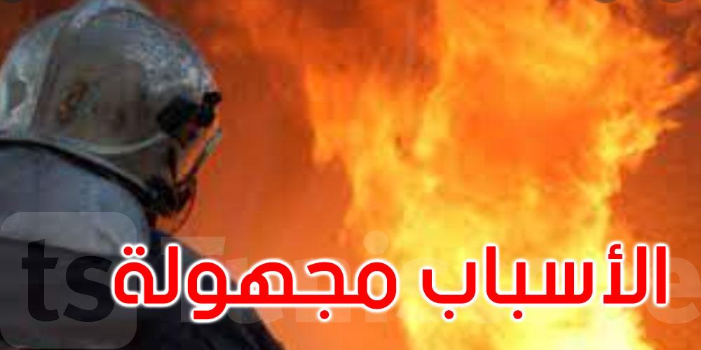 لا تزال أسبابه مجهولة: حريق هائل في مخزن للأدوية بالقيروان