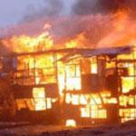 Sfax : Un entrepôt abandonné de STIL en feu
