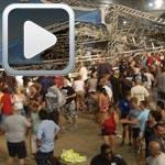 Vidéo : Quatre morts dans l'effondrement d'une scène aux Etats-Unis